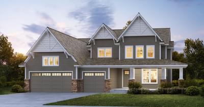 Davidson new home in Lake Elmo MN
