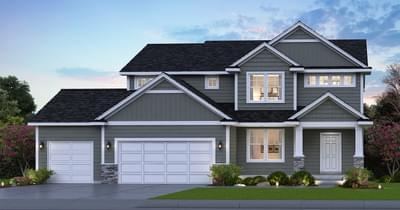 Lancaster new home in Lake Elmo MN
