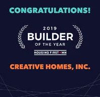 Creative Homes Awarded Builder of the Year by Housing First Minnesota
