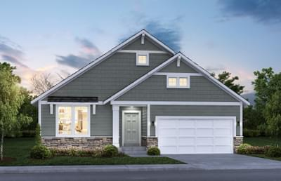 Classic Elevation. 2,807sf New Home in Lake Elmo, MN