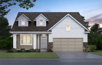 Craftsman Elevation. New Home in Hastings, MN