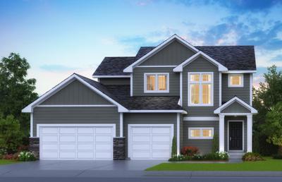 Aspen new home in Hudson WI